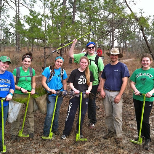 Longleaf Field Work