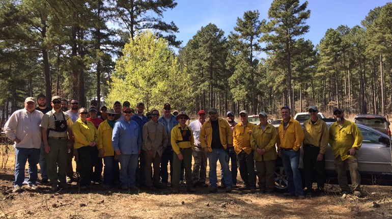 Prescribed Burning Demonstration in Angelina County