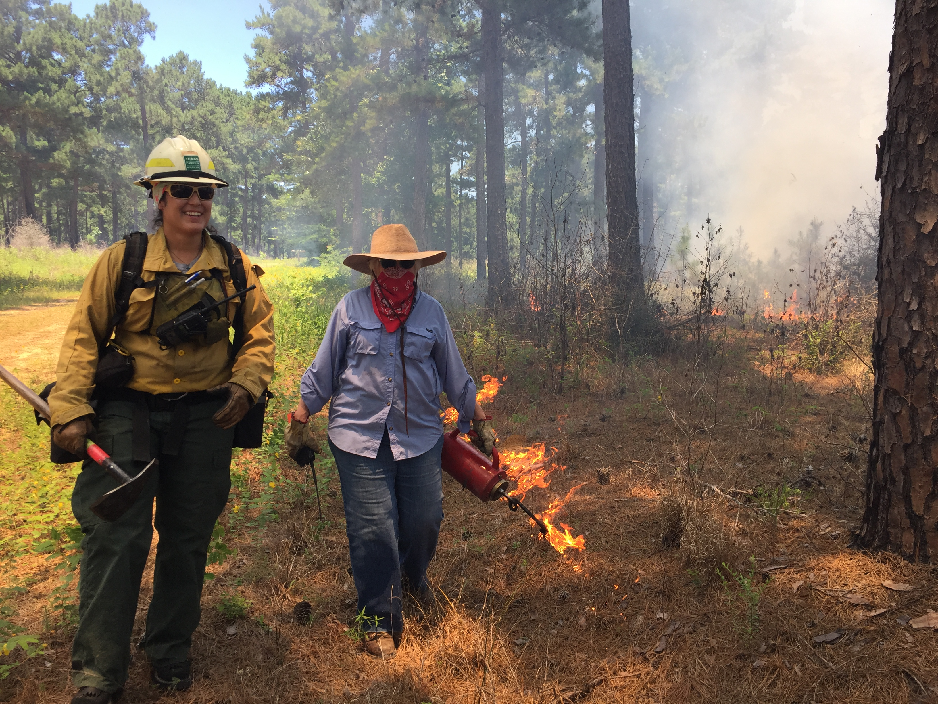 Prescribed Burning Course in Lufkin, TX. Photo credit: Kent Evans