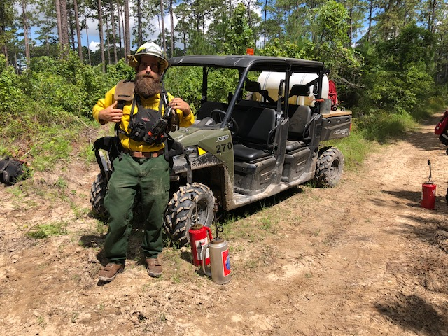 Brian Backhaus, TFS District Forester